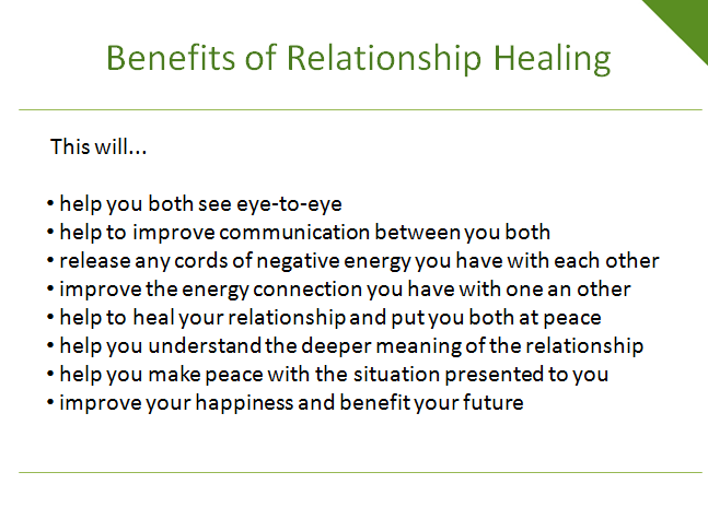 channel powerful energy to heal your relationship