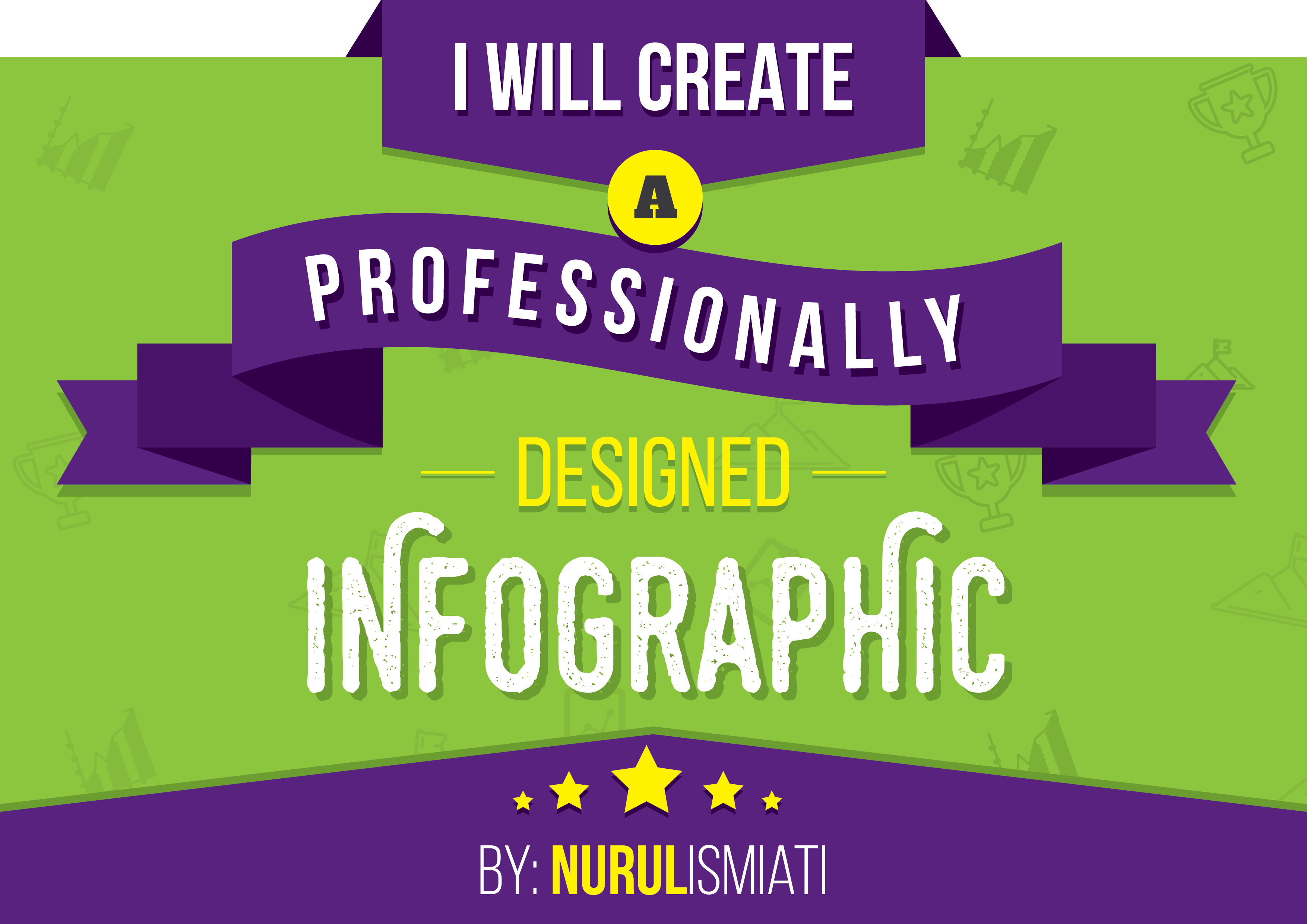 create a professionally designed Infographic