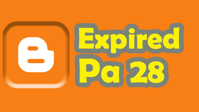 Give 25 expired blogspot Page Authority 28