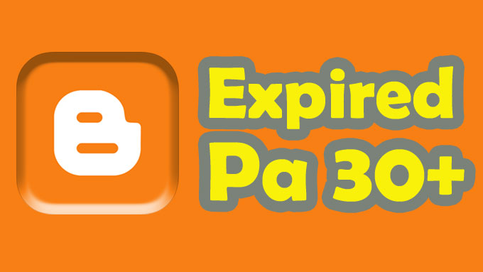 Give 5 expired blogspot Page Authority 30++