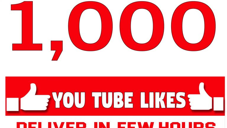 Provide you HQ 1,000 Youtube Video Likes