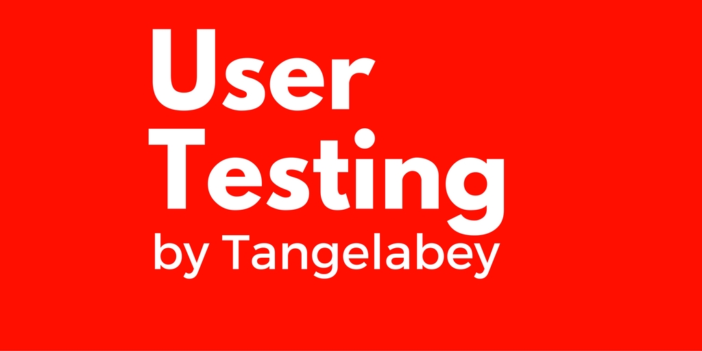test your site or app and from a Customers Point of View