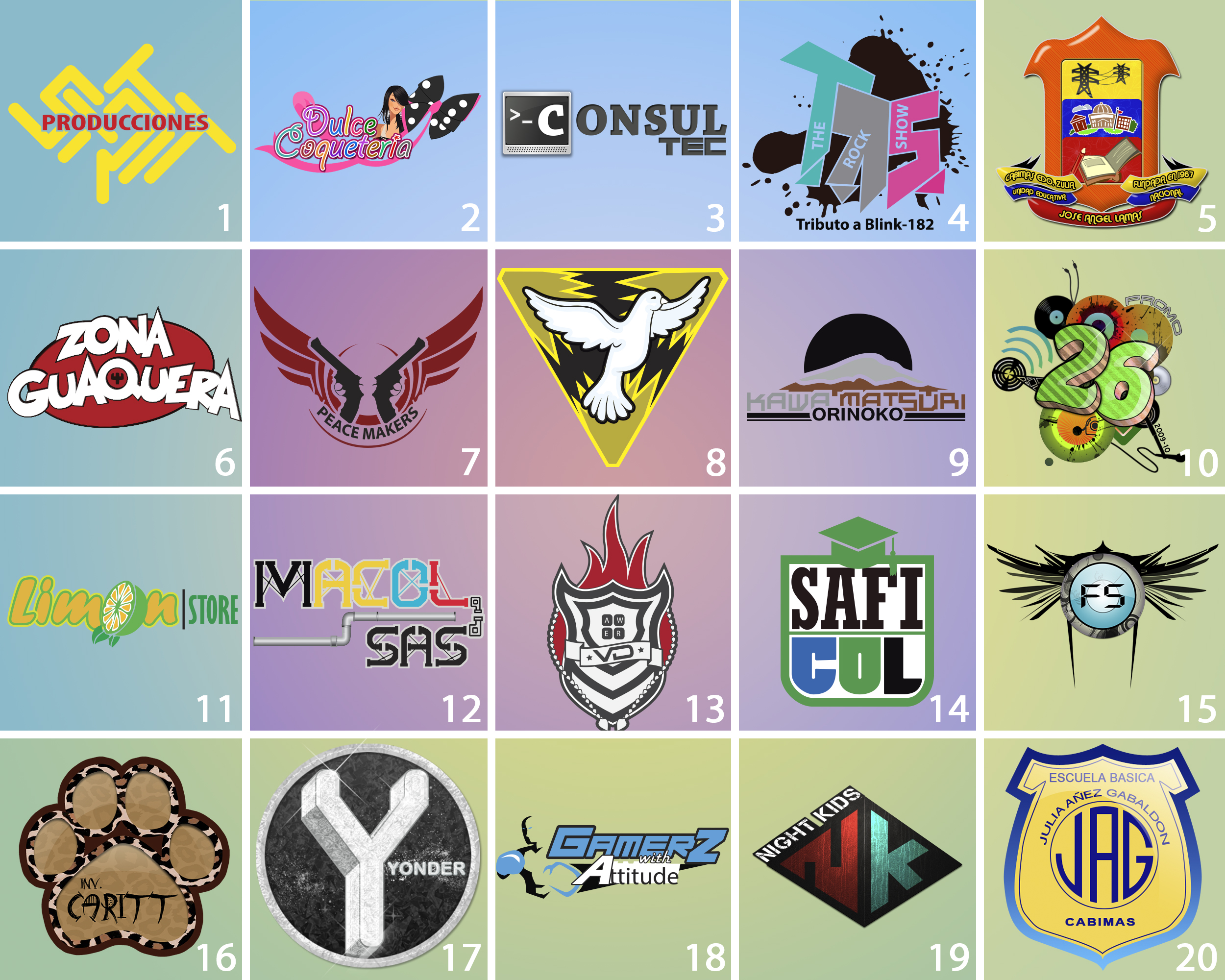 make or Recreate your business LOGO