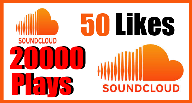 will deliver 50 soundcloud likes+ 20,000 plays within 3 days or less