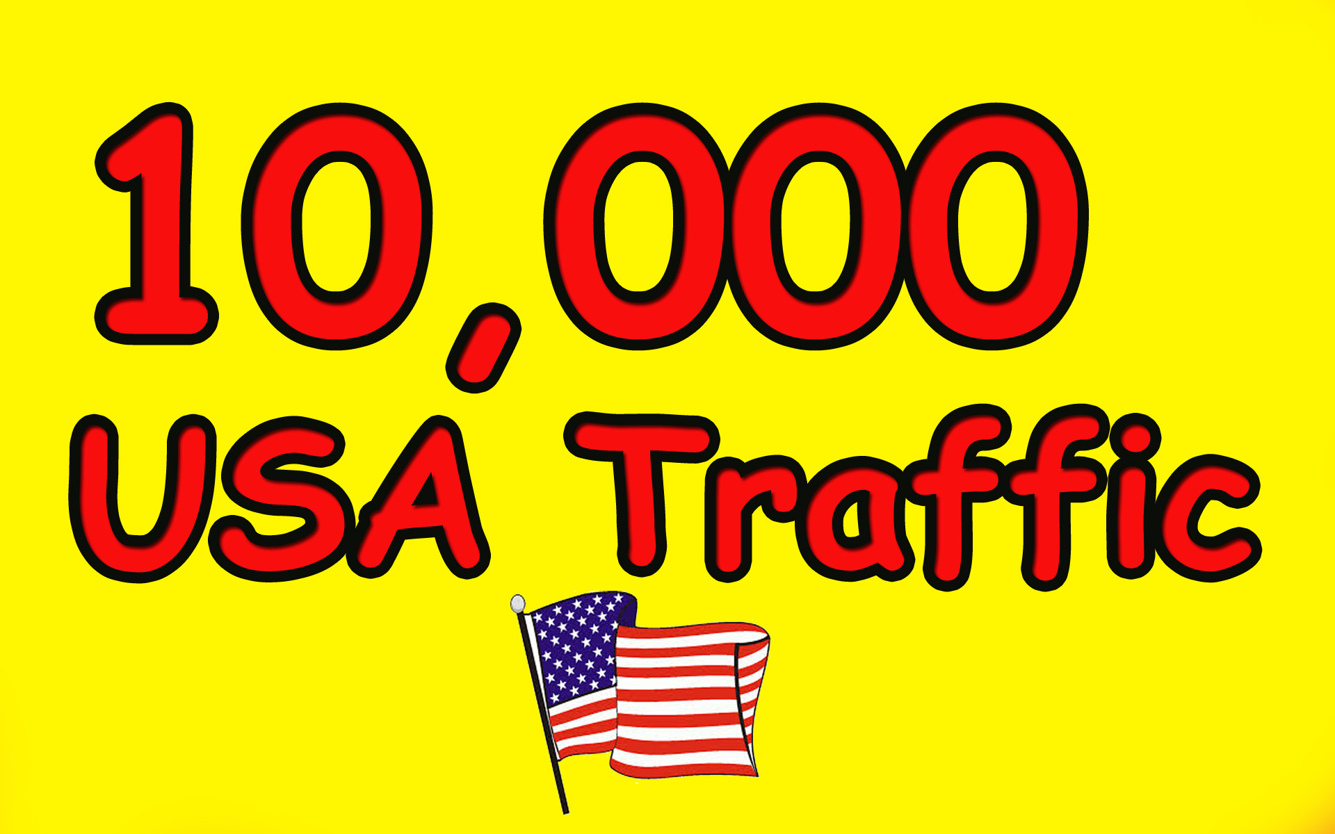Give you 10,000 Guaranteed USA Visitors to your site with proofs