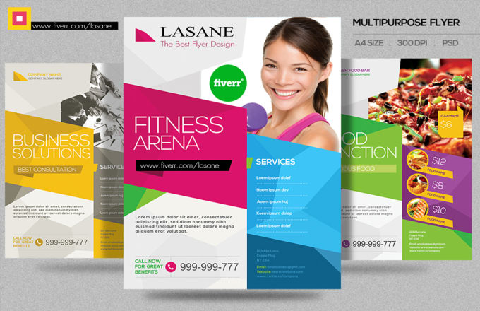 create a tri-fold brochure for your events, products promotions etc.