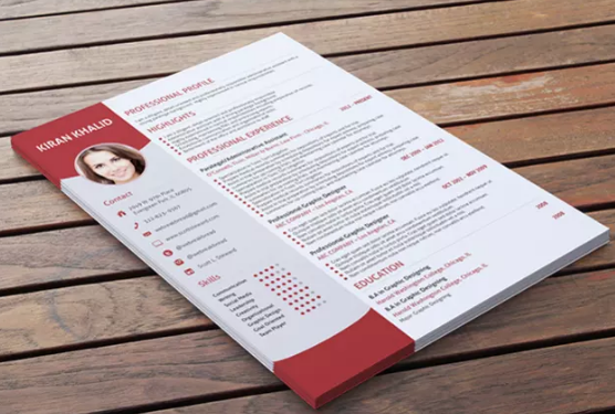 design Curriculum vitae,CV,resume,or Cover Letter for you