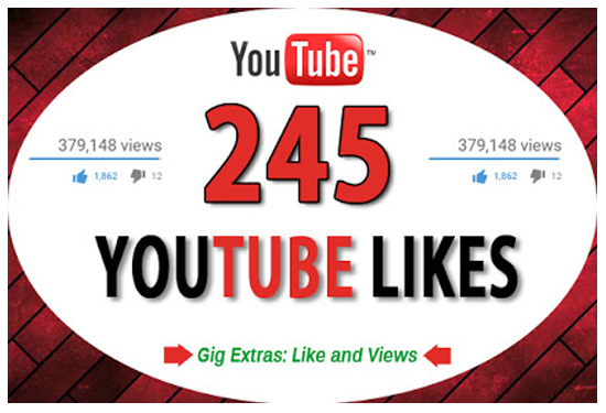 send 245 Real Youtube Likes Fast