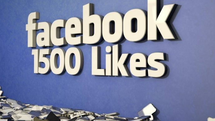 give you 1500 nondrop facebook page likes