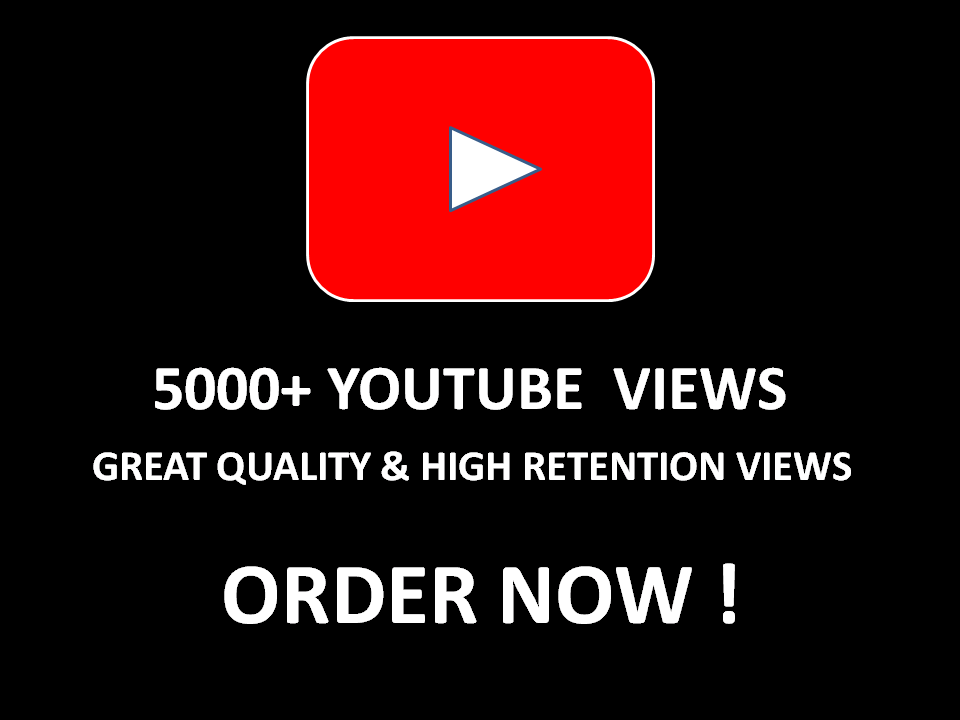 4000+ HQ Safe YouTube views