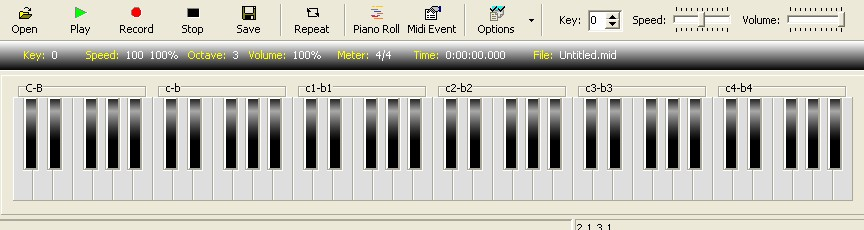 able to you to generate 100 type instrumental music by your computer.