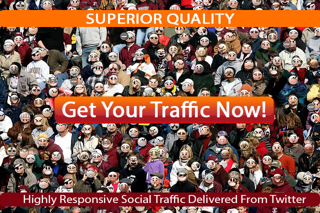 deliver 5,000 highly responsive social traffic from Twitter