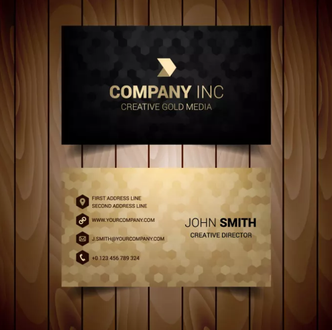 design OUTSTANDING business card