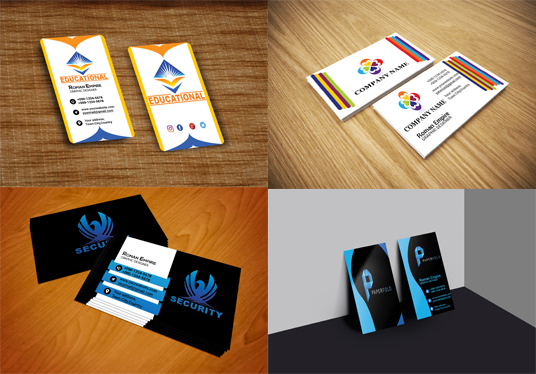 Design 2 Professional Business Card in 24 Hours