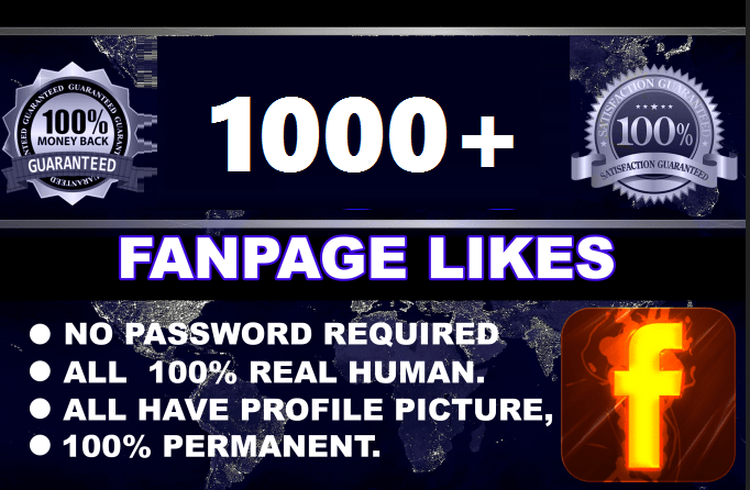 promote your facebook post 1000 Like