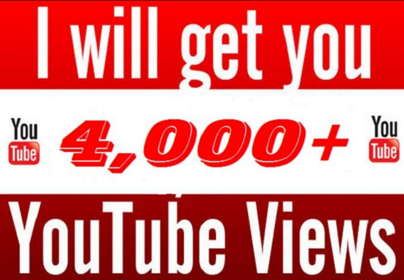 give you 4000+ youtube views