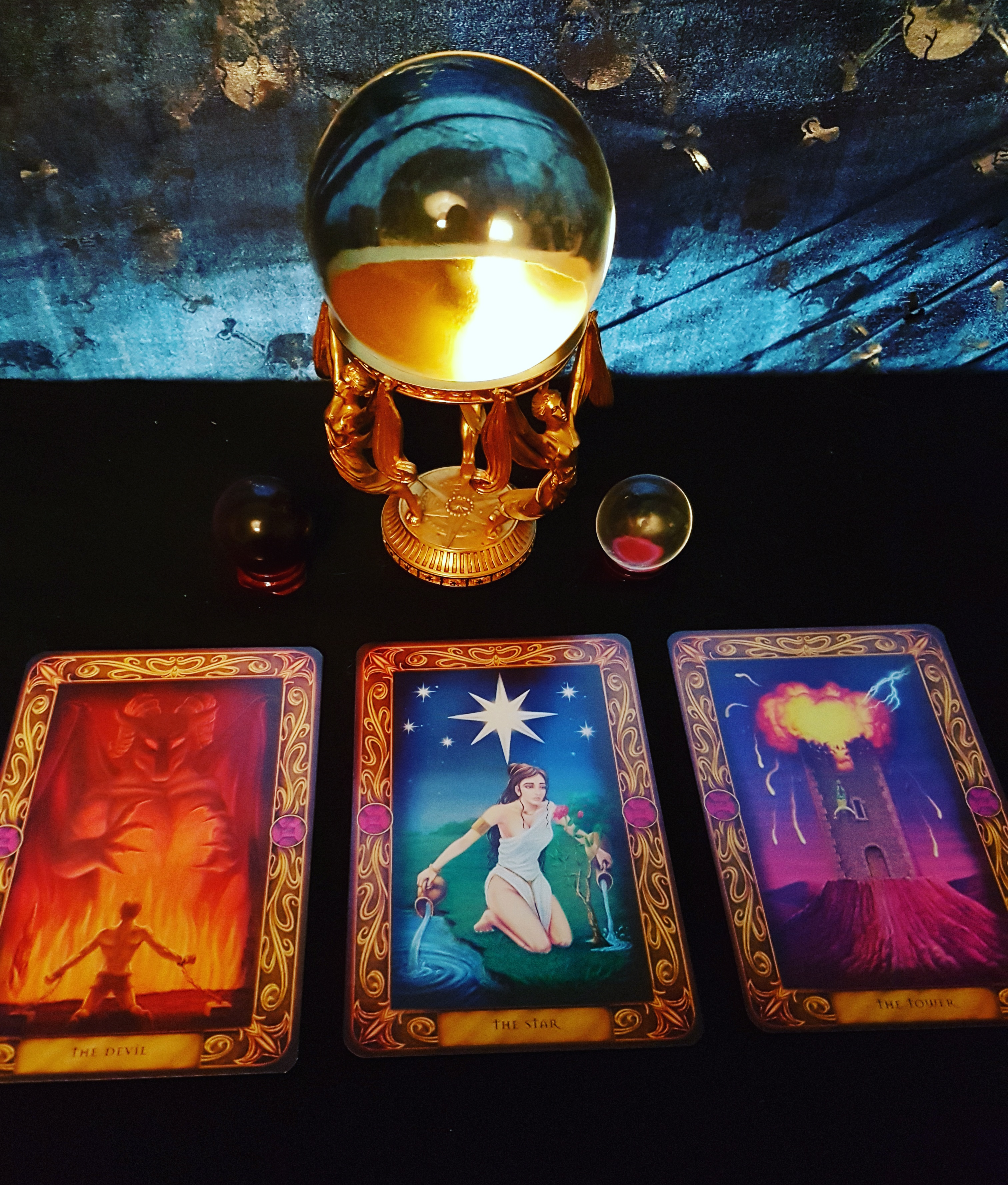 Perform a crystal ball reading