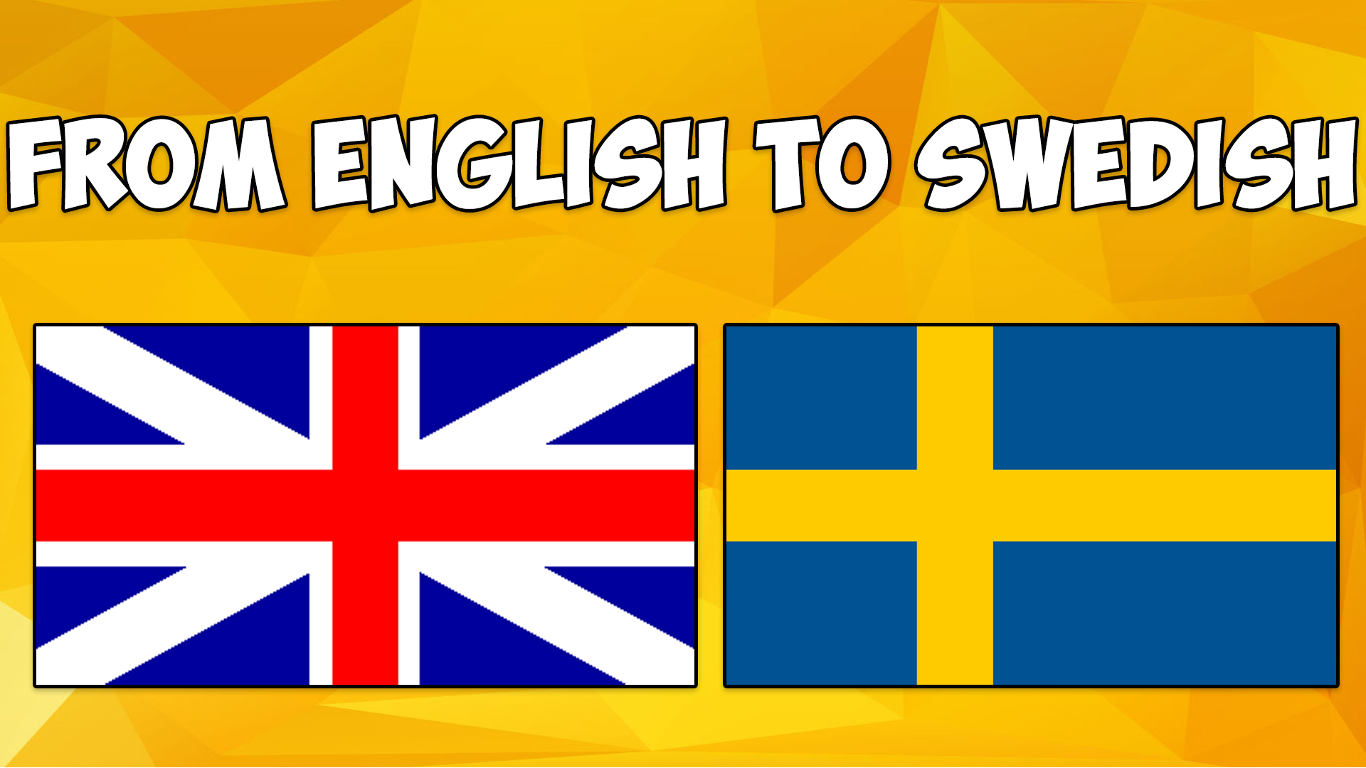 translate your website from english to swedish