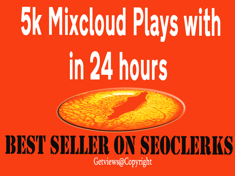 5000+ Mixcloud Plays In 24 hours