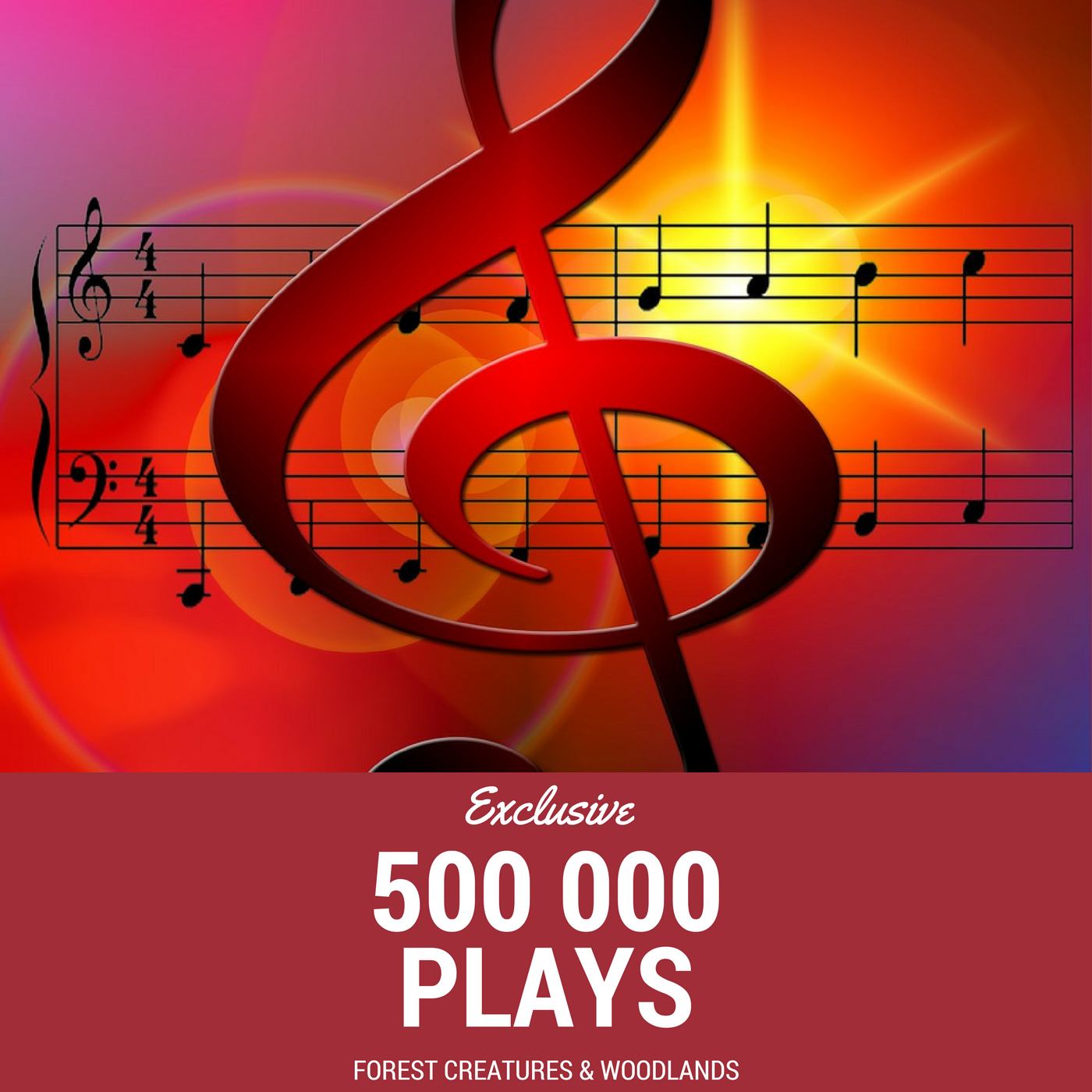 Bring more than 545 000 plays for your music