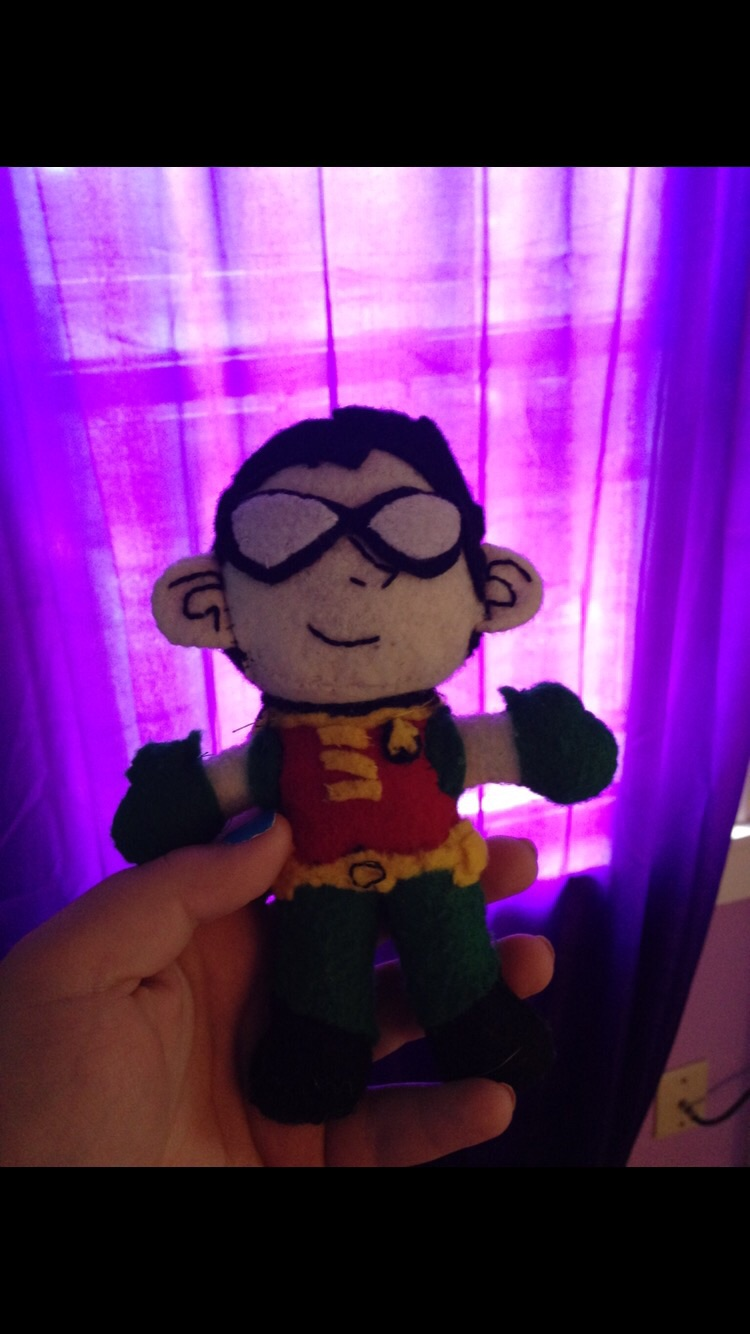 Sew a chibi plush toy of ANY character (real or fake)