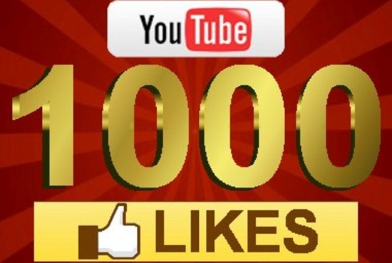 promote YouTube video to 1000 real likes