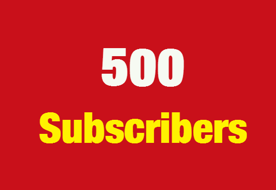 Add 300 YouTube subscribers