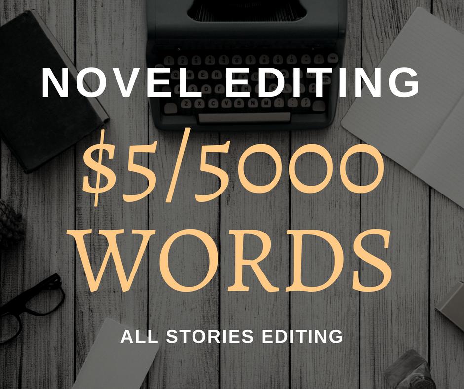 edit 5000 words of your novel