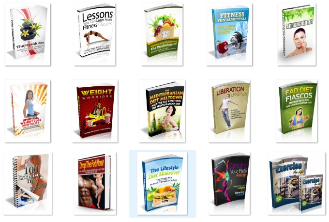 Get You 100 Fitness and Weight Loss PDF eBook With Master Resell Rights