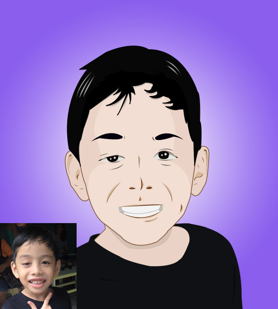 draw Anime Cartoon from your photo