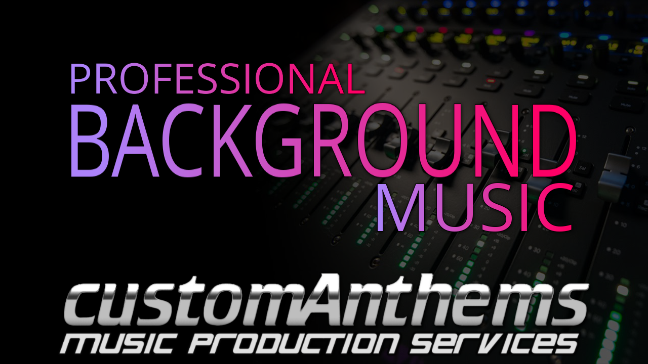 produce professional Copyright Free Background Music for your channel, video, podcast & more