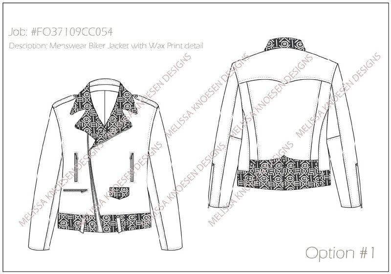 create Fashion CAD Illustrations or Technical drawings