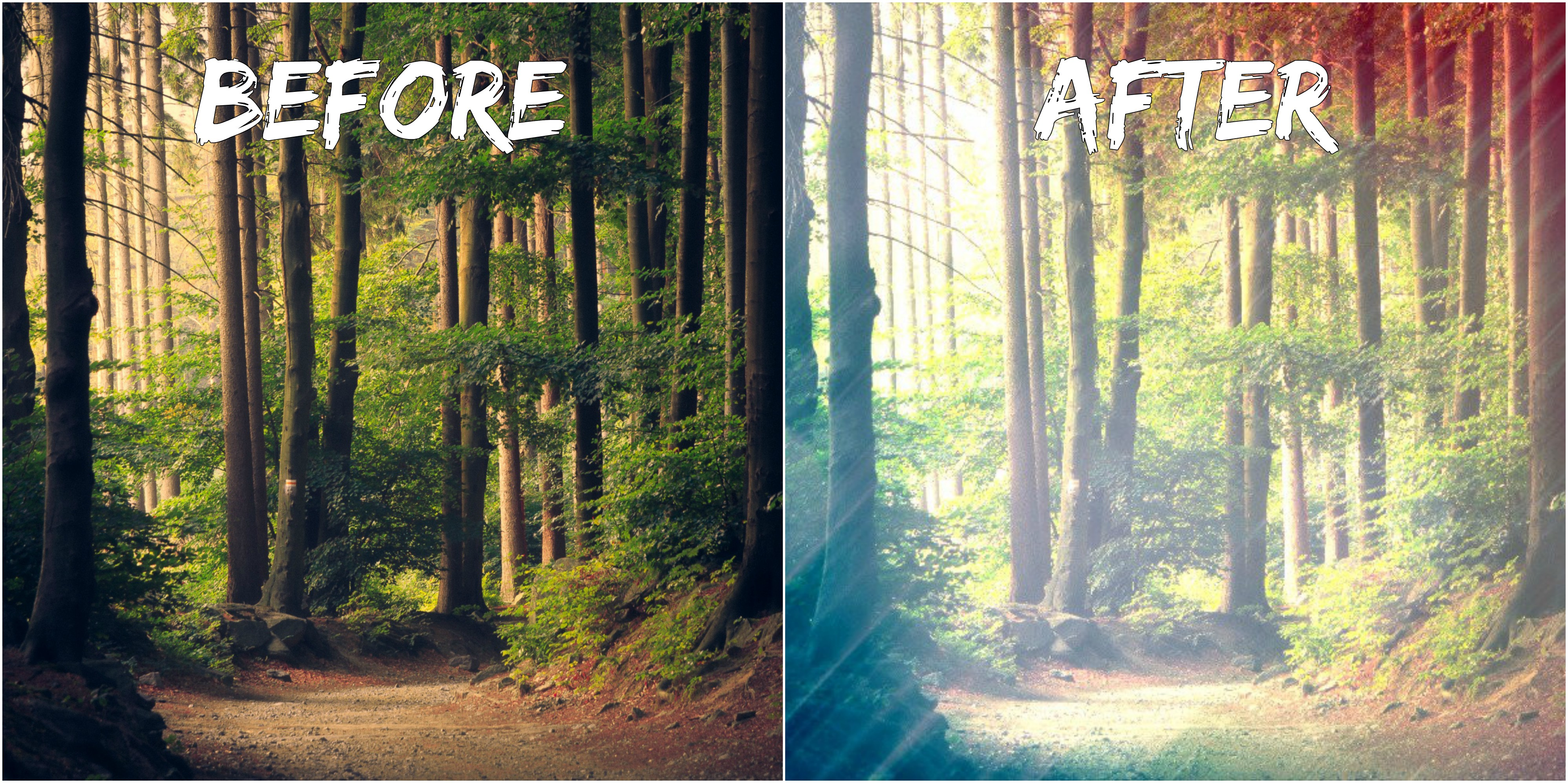 transform your image with this nice effect! #005