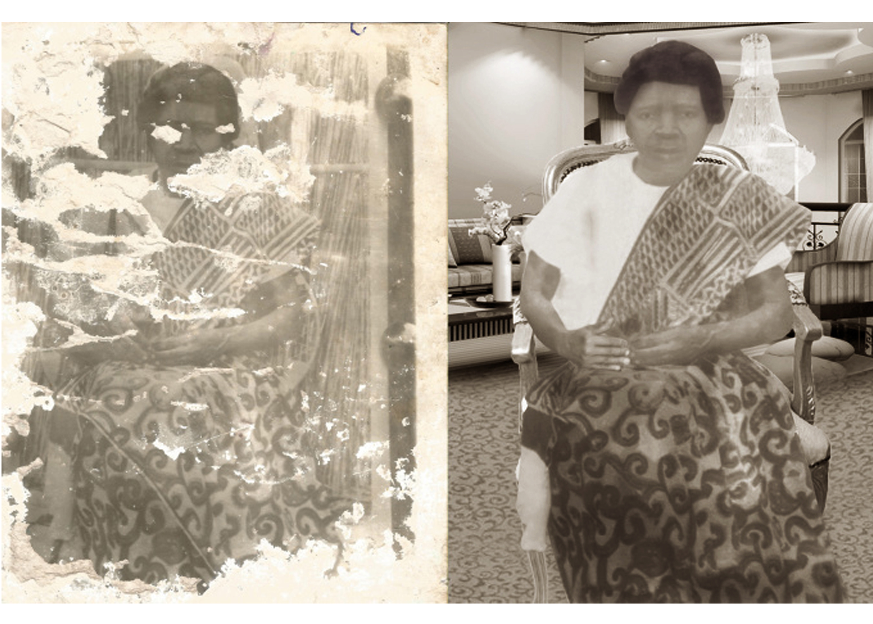 restore old damage photo, remove any stain, blemish on any photo