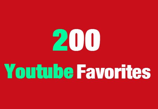 Add 200 Youtube Favorites Fast