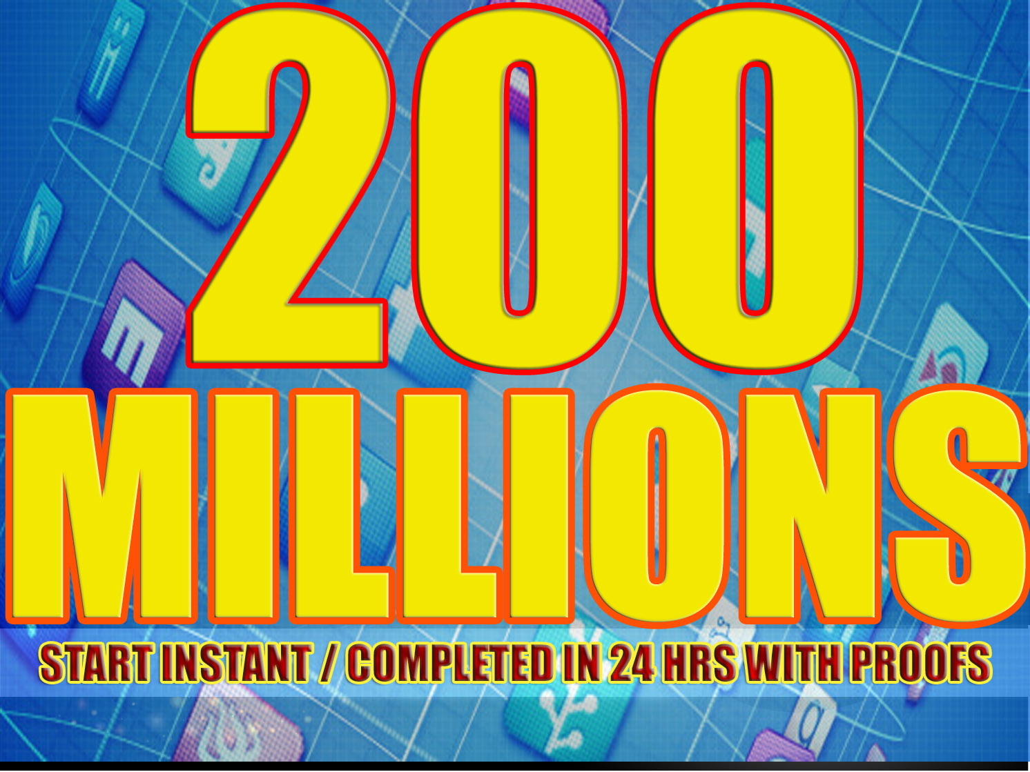 SHOUT OUT ANYTHING WITH 200,998,608 (200 MILLIONS) ACTIVE FACEBOOK MEMBERS