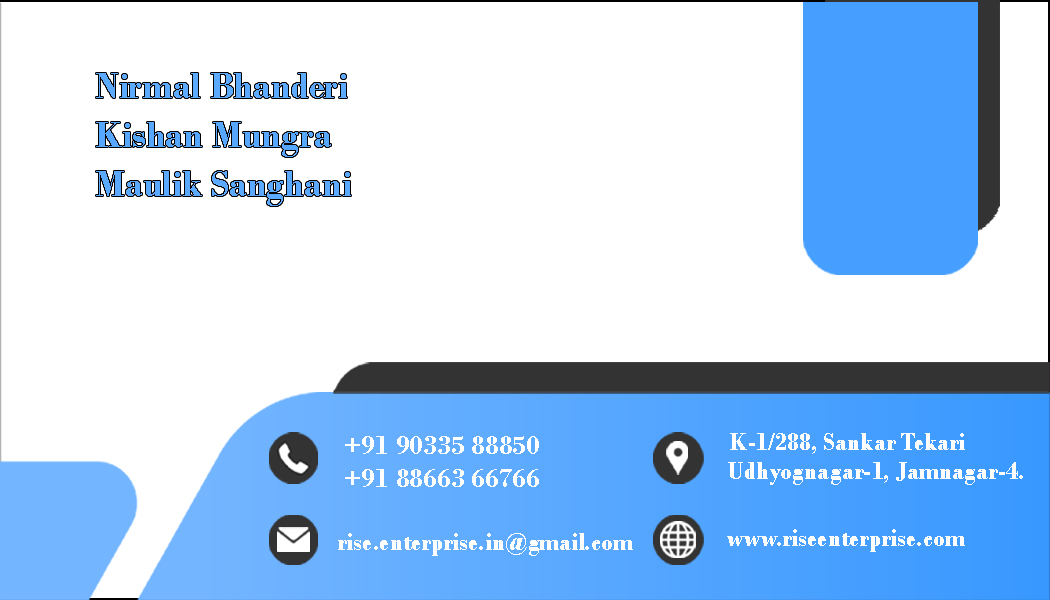 make your visiting card.