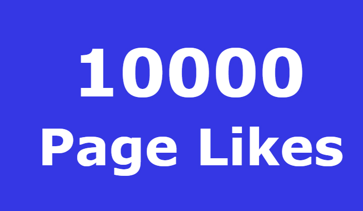 10000 Facebook Fanspage Likes