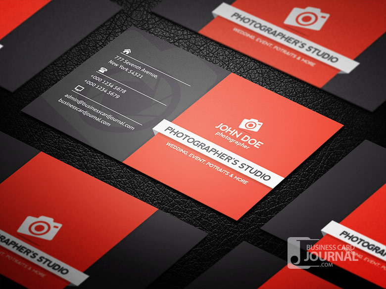 make professional double sided business card