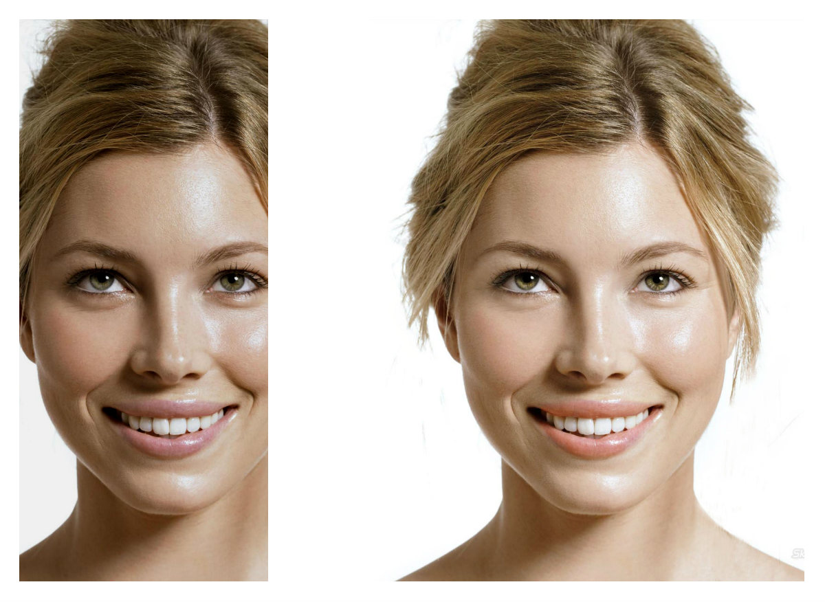 retouch or edit your portraits or any photoshop job