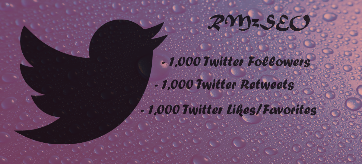 give you 2000 twitter (refill) followers