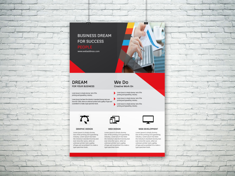 Design A Unique And Modern Poster Or Flyer