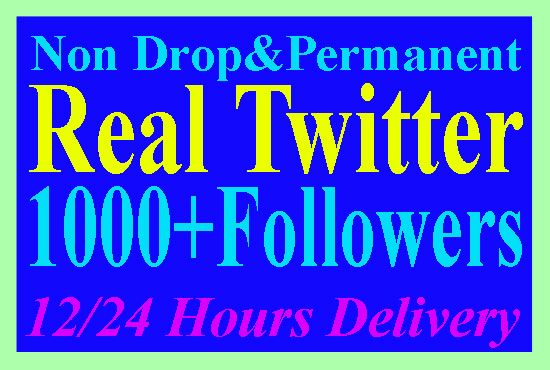 give you 1000 twitter followers