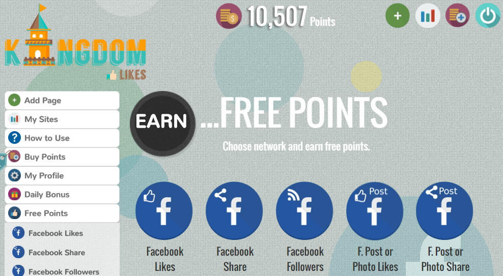 Give REAL 10,000 PLUS KINGDOMLIKES POINTS Account