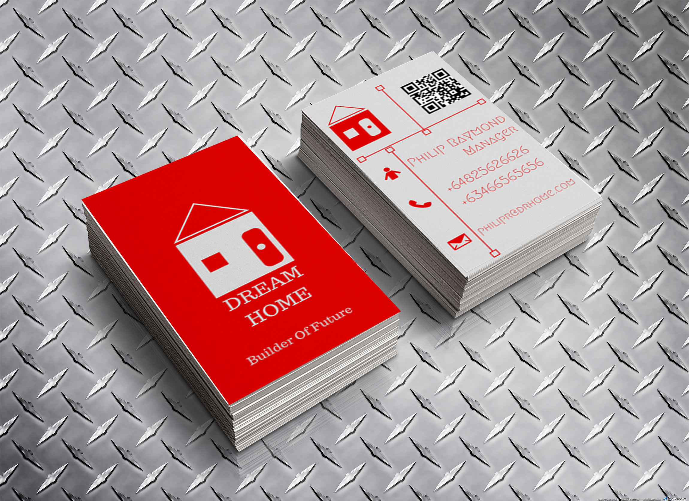make professional business card for you.
