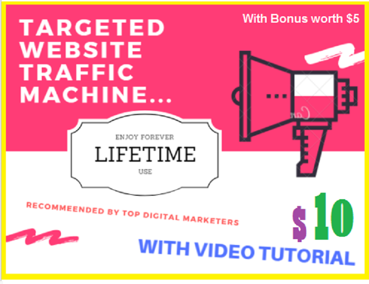 Targeted Website Traffic Software - LIFETIME USE