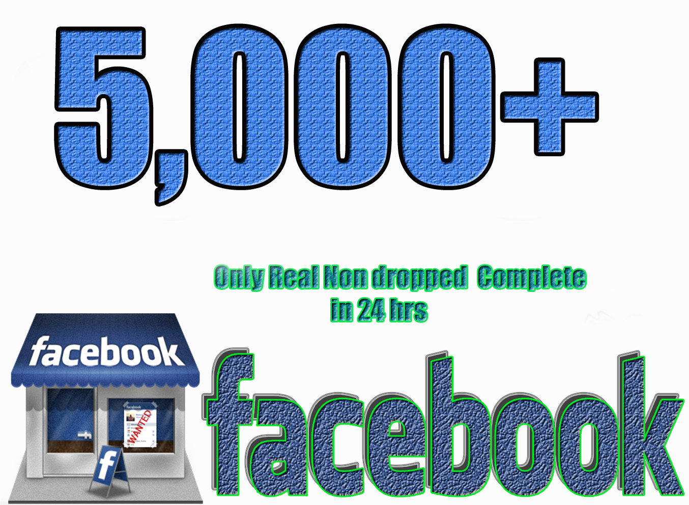 I will Add 5,000 Facebook Likes