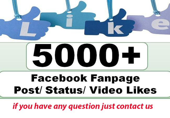 Provide Instantly 5000 Facebook Post Likes