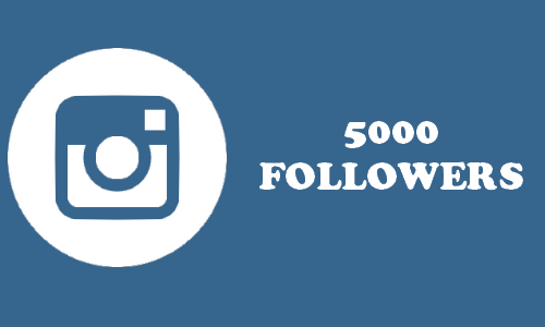 Give you 5000 Instagram Followers -[instant start]