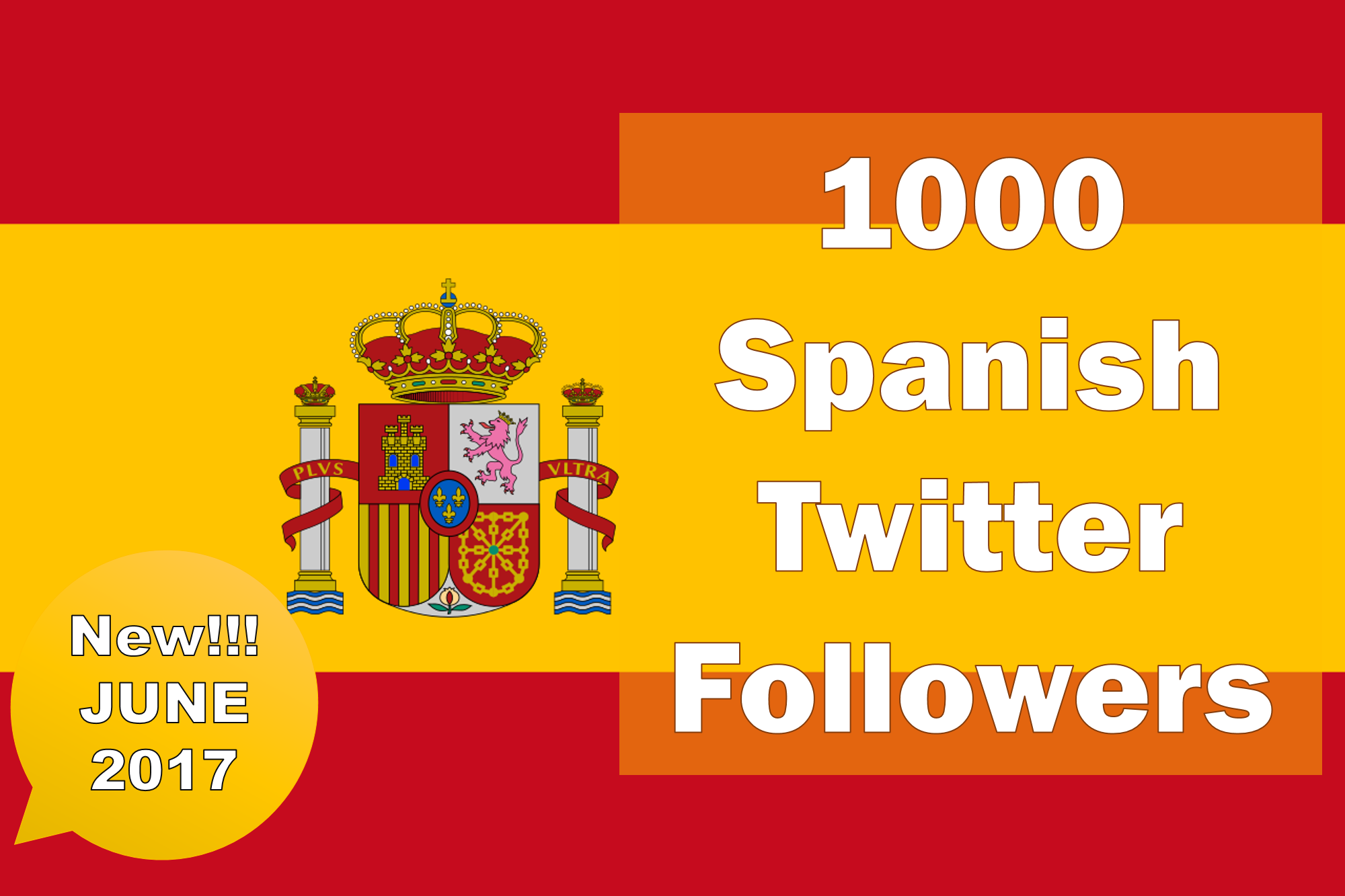 Promote and Provide 1000 Spanish Twitter Followers